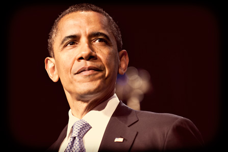 President Obama - two-term, 44th President of the United States.