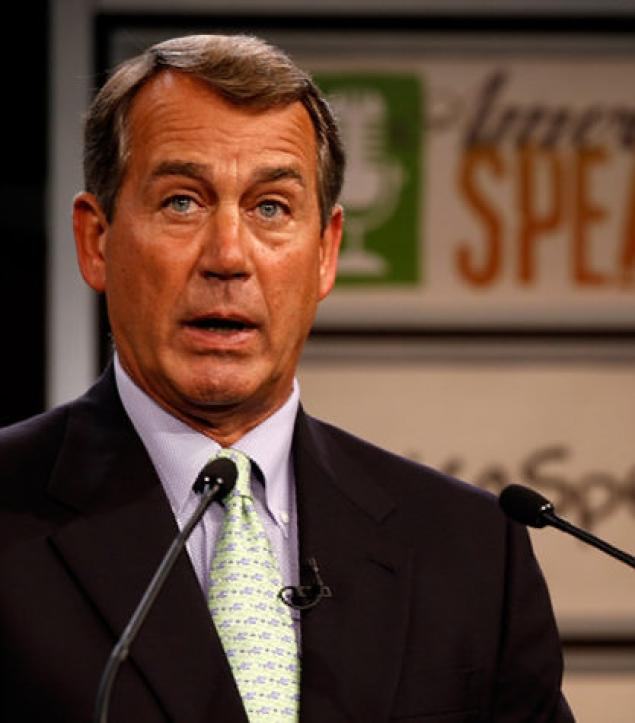 House Speaker John Boehner - leader of the pack...