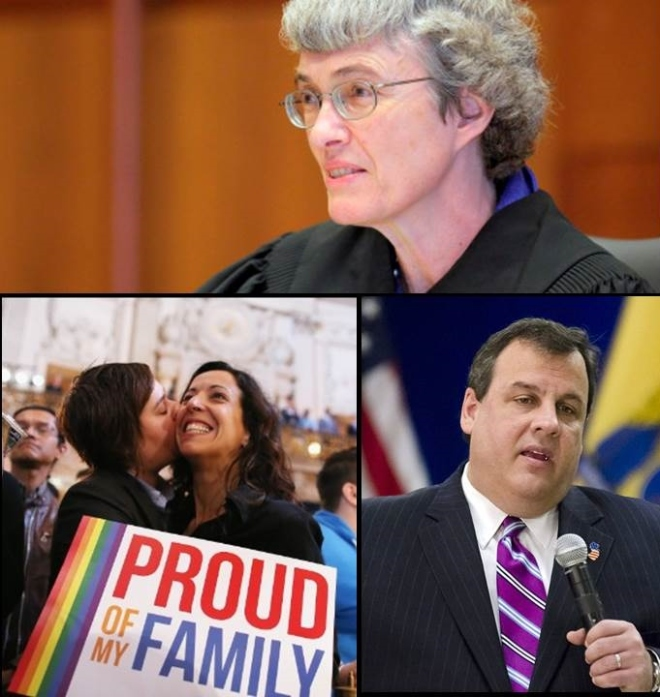 marriage equality - the law of the land in New Jersey