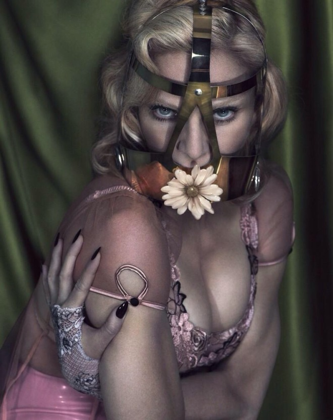 "One of the incredible shots from the Mert & Marcus photo shoot for the December 2014 edition of ""Interview Magazine"""