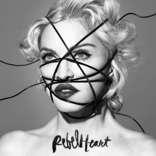 "The official ""Rebel Heart"" album cover by Mert & Marcus"